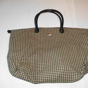 Longaberger  large bag with zipper